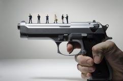 Gun lobby Royalty Free Stock Photos