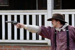 Gun men royalty free stock image