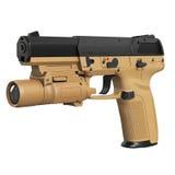Gun military, police Royalty Free Stock Image