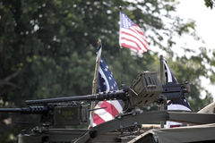.50 gun Normandy 2014 Royalty Free Stock Photography