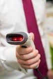 Gun optical. Scanner for reading bar codes Stock Photography