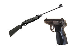 Gun and pistol Stock Images