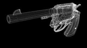 Gun, pistol Stock Photo