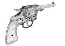 Gun, pistol Royalty Free Stock Images