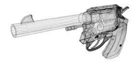 Gun, pistol Stock Image