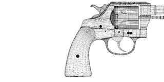 Gun, pistol Stock Photos