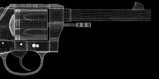 Gun, pistol Royalty Free Stock Photos