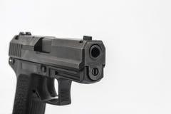 Gun. Pistol, on white background Royalty Free Stock Photos