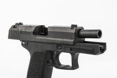 Gun. Pistol, on white background Stock Photos