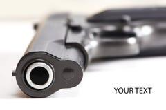 Gun pistol  Stock Photo