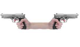 Gun Point Stock Photo