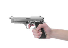Gun Point Royalty Free Stock Image