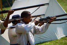 Gun practice Royalty Free Stock Image