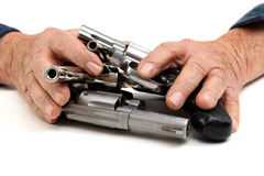 Gun protection Royalty Free Stock Photos