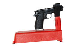 Gun rest Stock Image