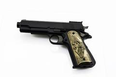 Gun rifle. War shot caliber Stock Photos