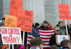 Gun rights rally Montpelier Vermont. Stock Photography
