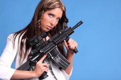 Gun safety Stock Image