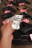 Gun sale Stock Photography