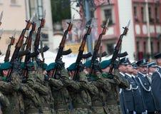 Gun salute Stock Photos