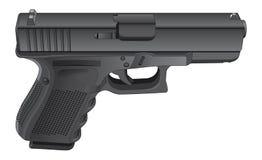 Gun Semi Automatic Handgun Royalty Free Stock Photo