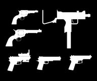 Gun set Stock Photography