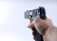 Gun shoot Royalty Free Stock Images