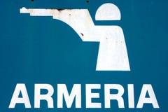 Gun Shop Sign Stock Images