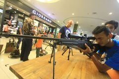 Gun Show Royalty Free Stock Images