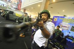 Gun Show Stock Photo