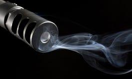 Gun smoke Stock Photos