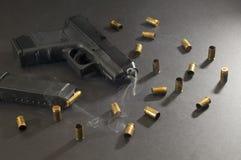 Gun smoke Stock Image