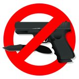 Gun6 illustrazione di stock
