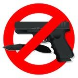 Gun6 ilustração stock