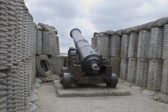 Gun of the 19th eyelid Royalty Free Stock Photo