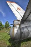 The gun turret of the Il-28 bomber. The gun turret of the Ilyushin Il-28 jet bomber stock images