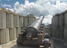 Gun of war of 1854 Stock Photos