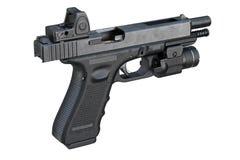 Gun weapon equipment Stock Photo