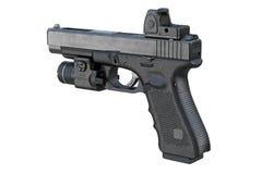 Gun weapon equipment Royalty Free Stock Photography