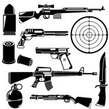 Gun and weapon Royalty Free Stock Image