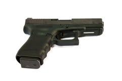 Gun. A gun weapon isolate background stock image