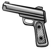 A gun Royalty Free Stock Image