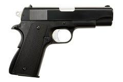 Gun on white Royalty Free Stock Images