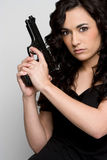 Gun Woman Stock Photos