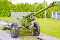 Gun of World War II Royalty Free Stock Images