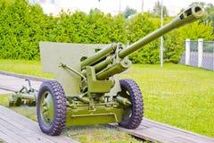 Gun of World War II Royalty Free Stock Images