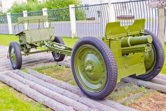 Gun of World War II Royalty Free Stock Photos