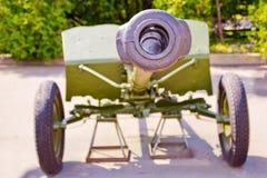 Gun of World War II Royalty Free Stock Image