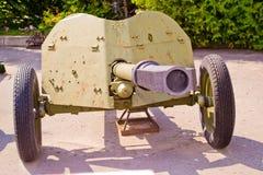 Gun of World War II Stock Image