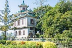 GUNAGDONG, ΚΙΝΑ - 17 Δεκεμβρίου 2015: Κήπος λι (Liyuan) ένα διάσημο hist Στοκ Φωτογραφία